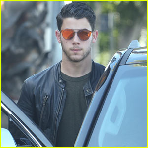 Nick Jonas Ran Into Some Trouble at the Voting Booth!