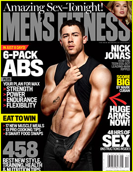 Nick Jonas Shows His Six-Pack for 'Men's Fitness'!