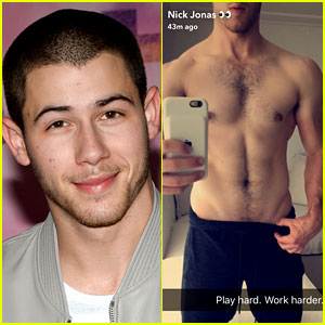 Nick Jonas Bares Ripped Abs in Hot New Selfie!