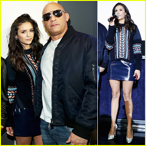 Nina Dobrev Helps Vin Diesel Surprise Fans At 'xXx: Return of Xander Cage' L.A Screening!