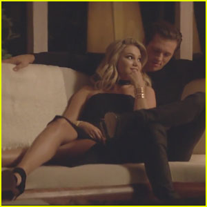 VIDEO: Olivia Holt Cozies Up to Former 'Kickin' It' Co-Star Leo Howard for 'History'!