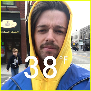 Patrick Schwarzenegger Was Not Prepared For Michigan's Cold Weather