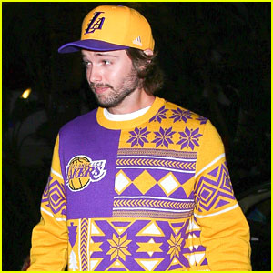 Patrick Schwarzenegger Watched 'Spy Kids' After Attending Lakers Game!