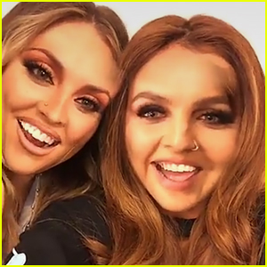 Little Mix's Jesy Nelson & Perrie Edwards Have Most Glam Face Swap Ever!