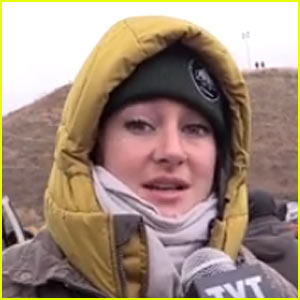 VIDEO: Shailene Woodley Breaks Down While Discussing Thanksgiving: 'I'm Sick of It'