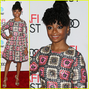Skai Jackson's Go-To Fall Style Can Def Be For Spring, Summer or Winter, Too!
