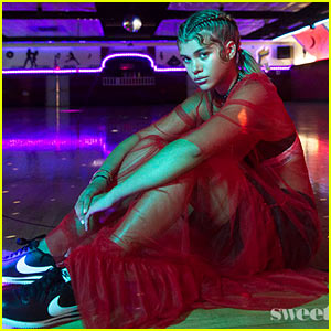 Sofia Richie Hits the Roller Skating Rink for 'Sweets! Magazine' Photo Shoot