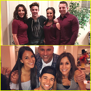 Cameron Dallas, Jake Miller, Sofia Carson & More Share Family Pics On Thanksgiving