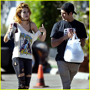 Tyler Posey Can't Keep His Eyes of GF Bella Thorne