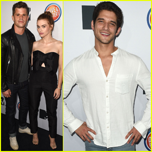 Tyler Posey & Holland Roden Celebrate 'Teen Wolf's Final Season