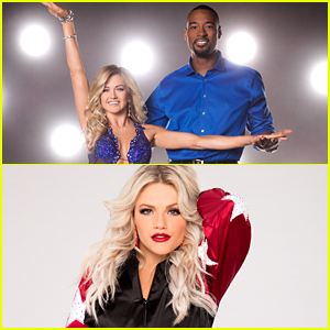 VIDEO: Witney Carson Joins Calvin Johnson & Lindsay Arnold For Trio Dance on 'DWTS' Season 23 Week 10