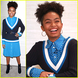 Yara Shahidi Speaks Out at Pearl xChange in Los Angeles