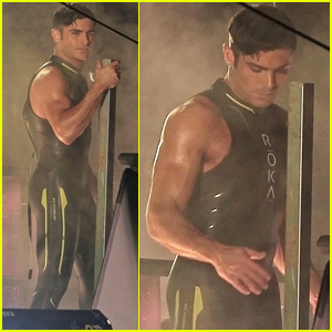 Zac Efron Puts His Wet Suit Back on For 'Baywatch' Re-Shoots
