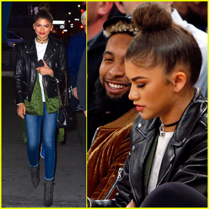 Zendaya Spotted Hanging With Odell Beckham Jr. at Knicks Game