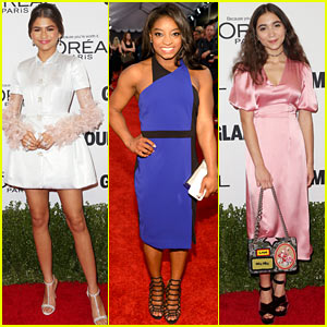 Zendaya & Simone Biles Honored at Glamour Women of the Year Awards!