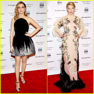 Zoey Deutch & Anya Taylor-Joy Are Gorgeous Gals at Gotham Awards!