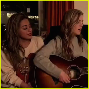 VIDEO: Fifth Harmony's Ally Brooke & Echosmith's Sydney Sierota Mash Up Two Christmas Songs!
