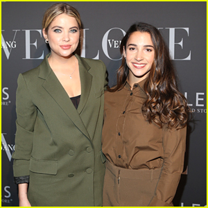 Gymnast Aly Raisman Meets PLL's Ashley Benson in New York City!