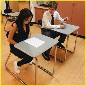 Bailee Madison & Boyfriend Alex Lange Study 'Chemistry' Together