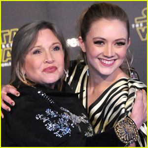 Billie Lourd's Mother Carrie Fisher Dies at 60