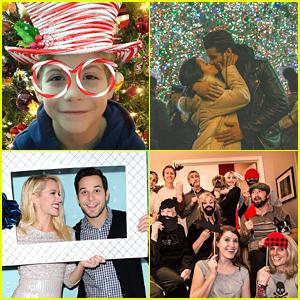 PHOTOS: Laura Marano, Cierra Ramirez, Jake Paul & More Share Cute & Awkward Holiday Pics!