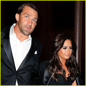 Demi Lovato's Boyfriend Luke Rockhold Reacts to Her First Grammy Nomination!