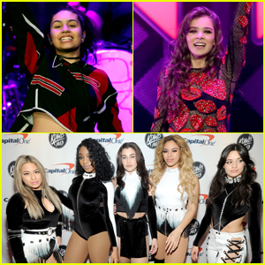 Fifth Harmony, Alessia Cara & Hailee Steinfeld Take the Stage at Jingle Ball