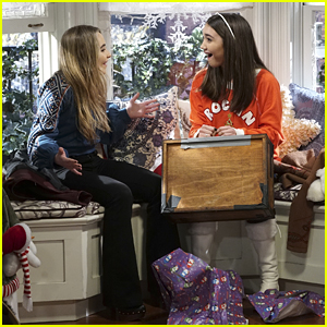 Riley Brings Christmas Cheer To Everyone on 'Girl Meets World' Tonight!