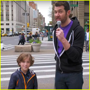 VIDEO: Jacob Tremblay Talks to Average New Yorkers on 'Billy on the Street'!