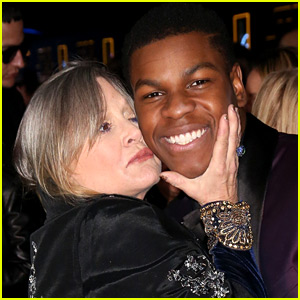 John Boyega's 'Heart is Heavy' Over Carrie Fisher's Death