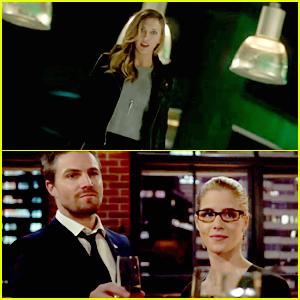 VIDEO: Katie Cassidy Returns to 'Arrow' In Mid-Season Premiere -- But Not As Laurel!