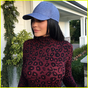 Kylie Jenner Is Ready For a Cheetalicious Christmas!