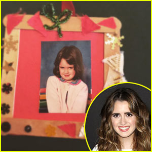 Laura Marano Shares Super Funny Family Ornament Pic!