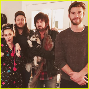 Liam Hemsworth Celebrated the Holidays With Miley Cyrus & Her Family!