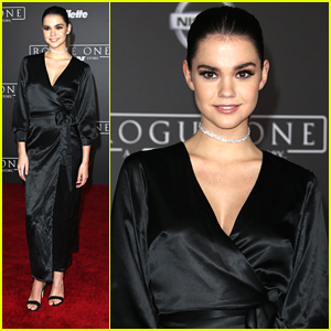 Maia Mitchell Looked Like A Million Bucks at 'Rogue One: A Star Wars Story' Premiere