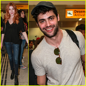 'Shadowhunters' Stars Katherine McNamara, Matthew Daddario & More Arrive in Brazil for CCXP!