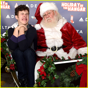 Modern Family's Nolan Gould Takes The Best Picture Ever With Santa Claus