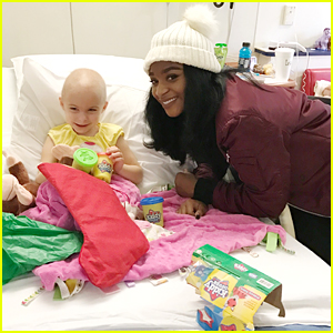 Fifth Harmony's Normani Kordei Sings 'Happy Birthday' To One Special Patient During Holiday Hospital Visit