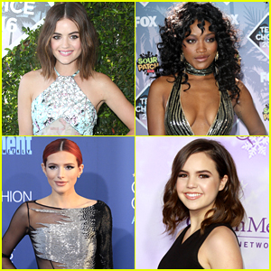 Get NYE Look Inspiration from Lucy Hale, Bella Thorne & More!