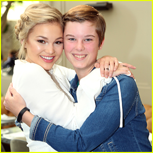 Olivia Holt Gives Back With Time & Support at St. Jude's Holiday Luncheon