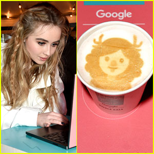 EXCLUSIVE: Sabrina Carpenter Proves Girls Who Code Are Awesome Too!