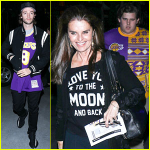 Patrick Schwarzenegger's Christmas Plans Included Rooting for Lakers!