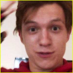 VIDEO: Tom Holland's 'Spider-Man' Gets a First Look Teaser!