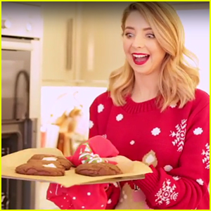 VIDEO: Zoella Makes Super Cute & Festive Treats For Vlogmas