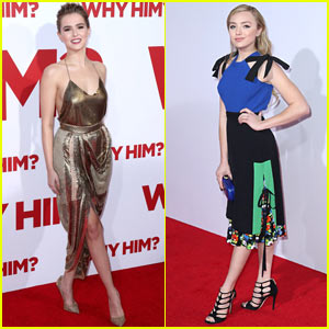 Zoey Deutch Shines in Gold at the 'Why Him?' Premiere!