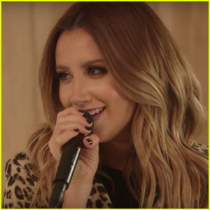 Ashley Tisdale Sings Sultry Cover of Britney Spears' 'Toxic' - Watch Now!