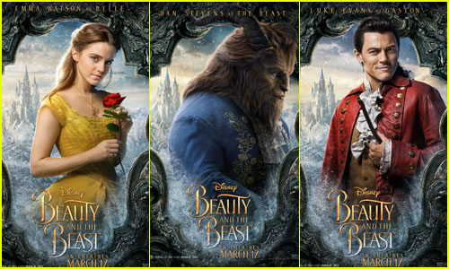 Emma Watson Channels Belle In New Beauty The Beast Characters Posters