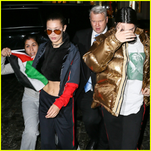 Kendall Jenner & Bella Hadid Have Close Encounter With Fan