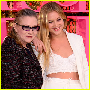 Billie Lourd Thanks Taylor Lautner & Other Friends For Their Support