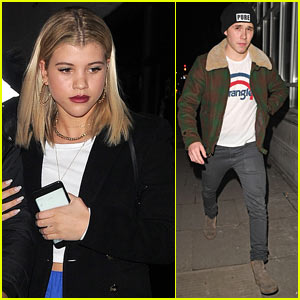 Sofia Richie Joins Brooklyn Beckham For Night Out in London!